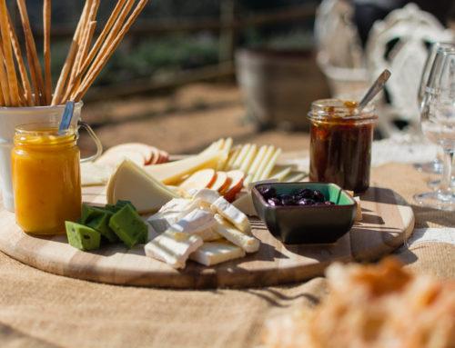 Ven al maridaje de quesos y vinos de Pansa blanca con Pepi Milà