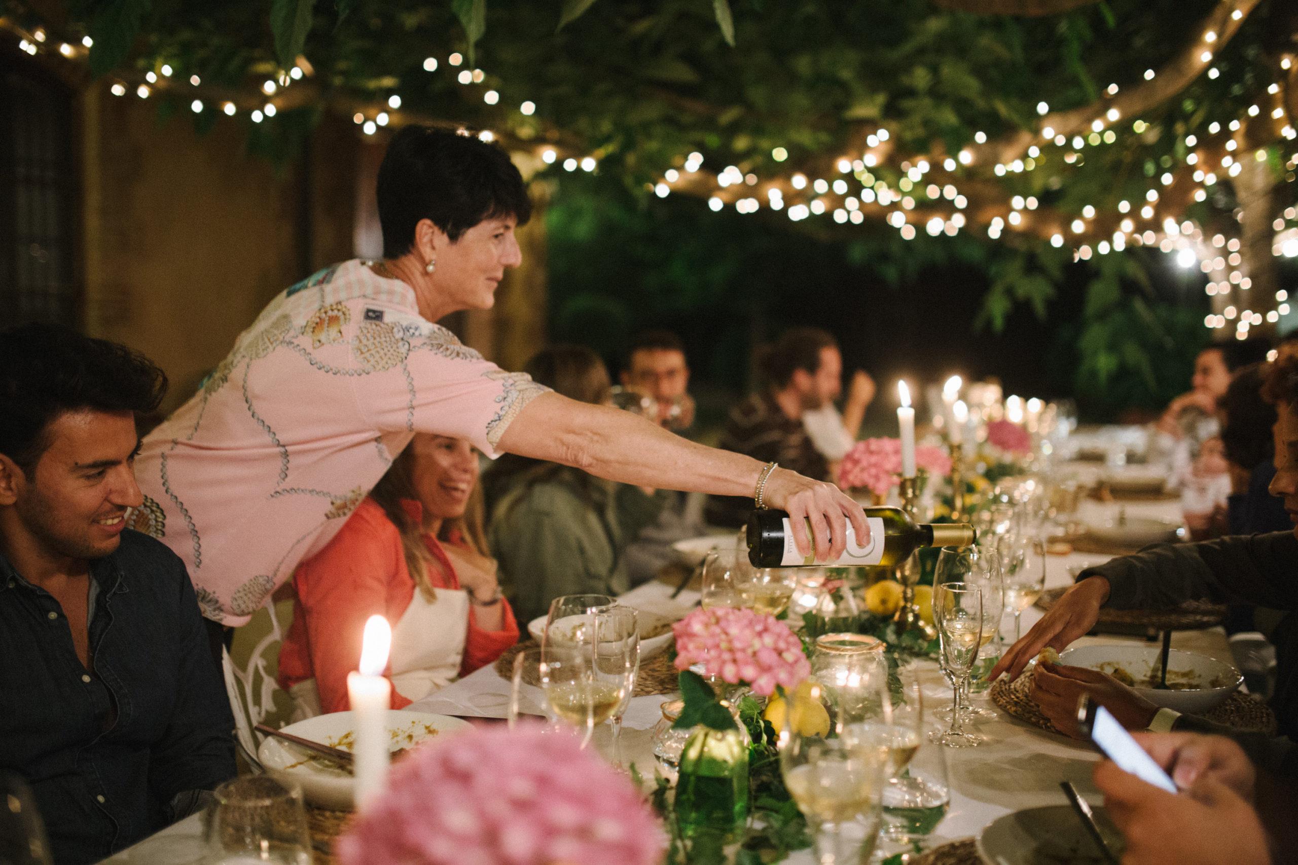 cena con maridajes de vino - Celler Can Roda
