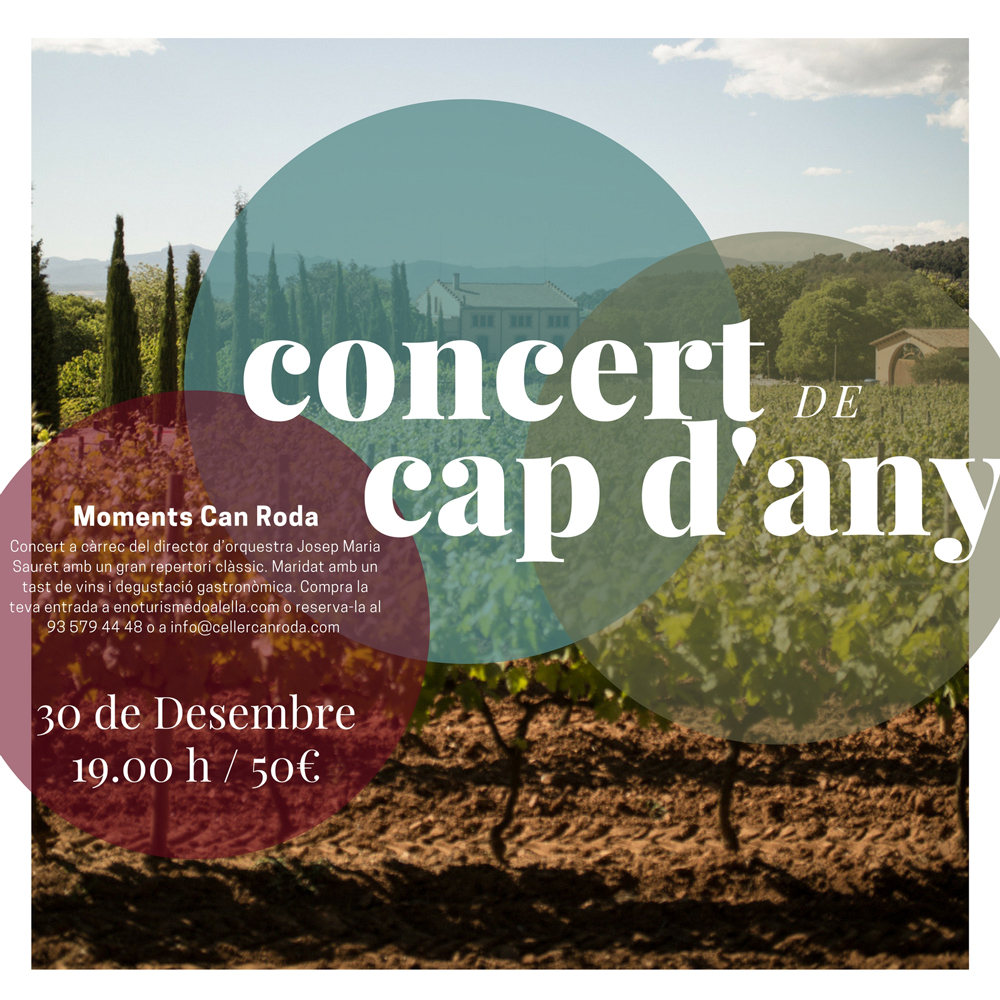 Concert cap d'any - Celler Can Roda