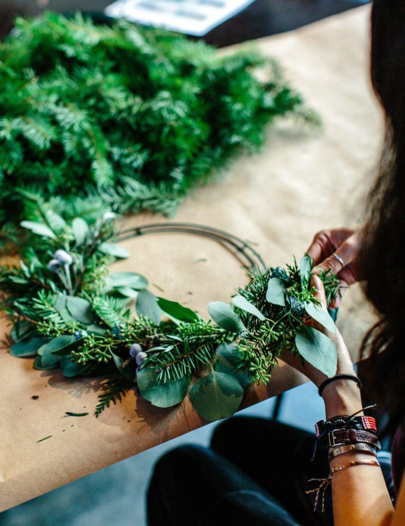 curso decoracion navideña - Celler Can Roda