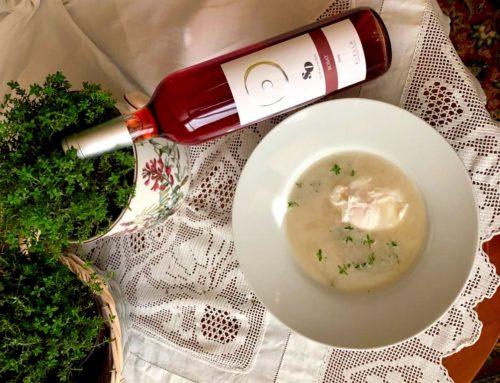 Recepta del mes: Sopa de farigola amb ou poché per maridar amb el nostre vi rosat So Masia Can Roda