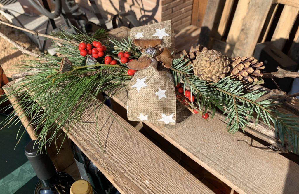 taller decoracion navideña - Celler Can Roda